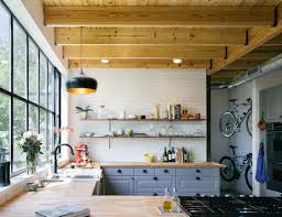 kitchen style modern industrial kitchen design subway tile