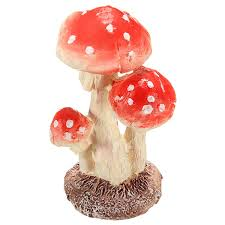 amazon com kingso toadstools decorative mushrooms garden ornament