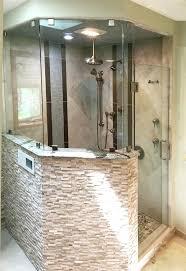shower glass wall shower glass wall shower stall glass wall