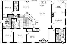 square floor plans for homes simple square house plans the tnr 7604 manufactured home floor