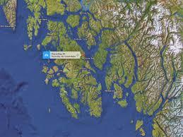 Ketchikan Alaska Map by Prince Of Wales Island Alaska Alaskan Escape Self Guided
