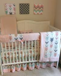 Pink Chevron Crib Bedding Bedding Cribs Dazzling Pink Chevron Crib Bedding Pink Chevron
