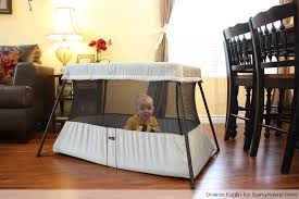 Crib Light Traveling With Baby Is Easy With The Babybjorn Travel Crib Light 2