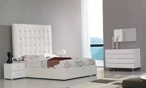 tall white tufted headboard home design ideas