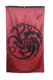 game of thrones home decor amazon com game of thrones home decor banner targaryen house