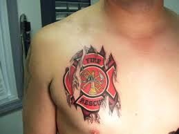 firefighter maltese cross tattoo design in 2017 real photo