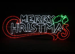 merry lighted outdoor sign yonder shop