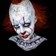 it pennywise the clown makeup popsugar beauty