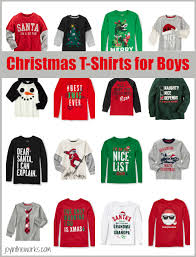 christmas shirts christmas t shirts for boys in the works