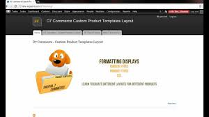 drupal different templates for different pages drupal 7 commerce custom product templates tutorial youtube