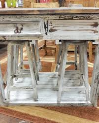 kitchen island with 4 stools white rustic kitchen island w 4 stools rick s home store