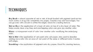 What Colors Do You Wash Together - watercolor art 1 vocabulary binder is what holds particles of