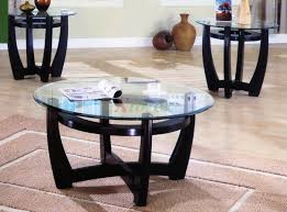 Living Room Accent Tables Furniture Of America Carnes Dark Cherry 3 Piece Accent Table Set