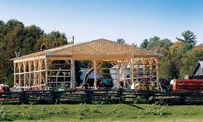 Cost Of Pole Barns Do It Yourself Pole Barn Building Diy Mother Earth News