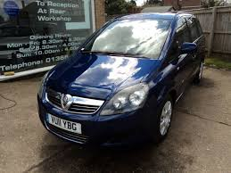 vauxhall blue used vauxhall zafira and second hand vauxhall zafira in cambridgeshire