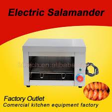 cuisine salamandre commercial haute qualité en acier inoxydable petit électrique four