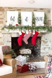 Christmas Decoration Ideas Pinterest 18 Christmas Mantel Decorating Ideas From Homes Around America