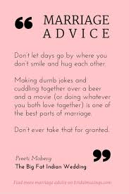 newly married quotes quotes about marriage advice from preeti moberg editor of
