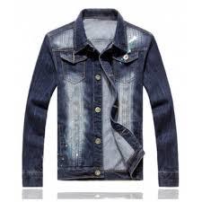 bleach denim jacket online for sale gearbest com