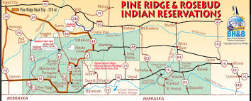 Map South Dakota Pine Ridge Map Black Hills U0026 Badlands South Dakota