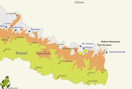 Nepal On Map Makalu