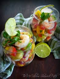 martini shrimp easy shrimp ceviche with mango pineapple u0026 avocado u2013 the