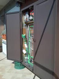 armadio da esterno in alluminio armadi copricaldaia