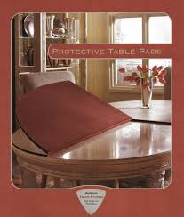 dining table heat protector table pad for havertys dining table table pad shop