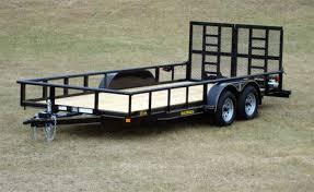 tandem axle utility trailer johnson trailer co