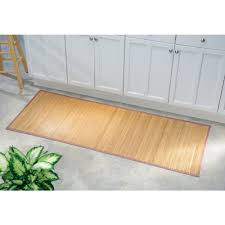 Bath Mat Runner Amazon Com Interdesign Bamboo Floor Runner U2013 Ideal Mat For