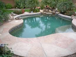 Backyard Stamped Concrete Ideas Pool Patio Materials Stamped Concrete Vs Pavers Loversiq