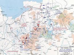 World War One Map by War 1 Map Of Battles