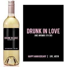 anniversary wine bottles anniversary wine label custom wine label personalized wine