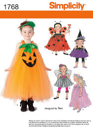 Simplicity Halloween Costumes Simplicity 1768 Toddler Child Costume