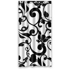 Cheap Home Decor From China Home Decor Black And White Shower Curtain Damask Set Homeminimalis