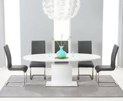minimalist dining table and chairs dining room elegant white oval dining table with minimalist dining