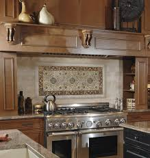 cucina kitchen faucets tan brown granite with oak cabinets botticino tile contemporary