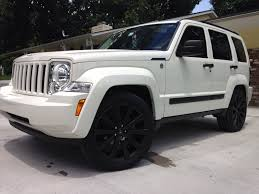 blacked out jeep stunning used jeep liberty for sale by jeep liberty driver side