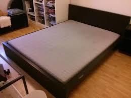 platform bed mattress ikea large size of bed framesking bedroom captivating black wooden headboard and white sheet platform