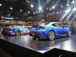 subaru supercar tokyo auto salon subaru revealed its motorsport activities for