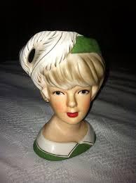 Vintage Lady Head Vases 508 Best Vintage Lady Head Vases Images On Pinterest