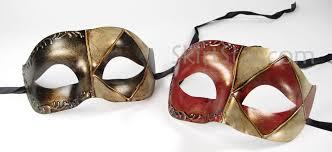 jester masquerade mask venetian mask masquerade paper mache jester rustic gold black