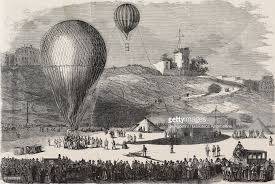 siege air air postal balloon departing from place saintpierre to