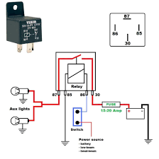 horn relay simple wiring within horn wiring diagram with relay