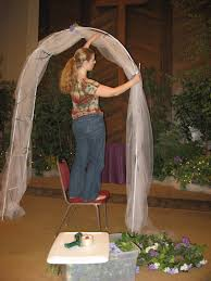 wedding arches decorated with tulle decorating wedding arch with tulle wedding decoration ideas gallery