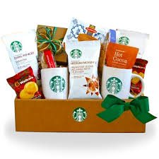 gourmet coffee gift baskets get starbucks coffee and cocoa gourmet gift basket