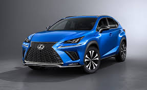 lexus sports car blue 2018 lexus nx photos and info news car and driver