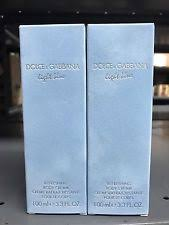 Light Blue Dolce And Gabbana Womens Dolce And Gabbana Light Blue Refreshing Body Cream 100 Ml Ebay
