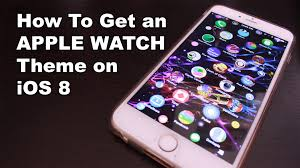 Iwatch Theme For Iphone 6 | how to install apple watch theme on ios 8 1 youtube