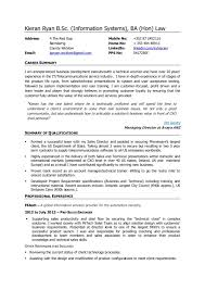 exles of a simple resume telecom sales resume krida info exle templates exles simple